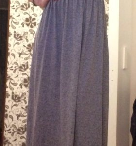 платье длинное h&m