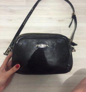 Лакированная сумка,б/у