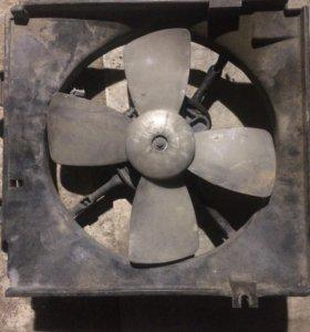 Вентилятор радиатора мазда