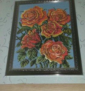 Картины из бисера на заказ