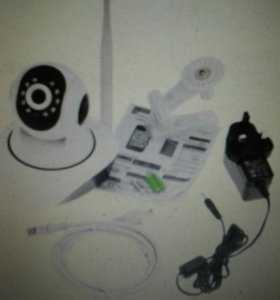Ip wifi камера поворотная с сигнализацией