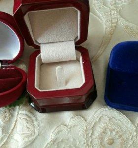 Коробочки 6 шт для украшений