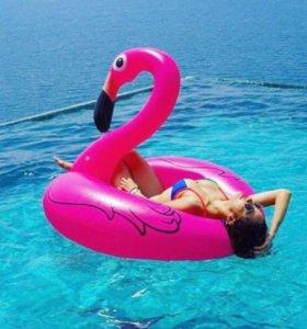💓Круг розовый фламинго