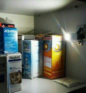 Подсветка в  шкафы (2шт.)