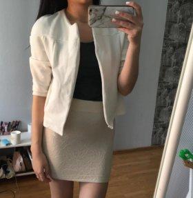 Накидка пиджак новая