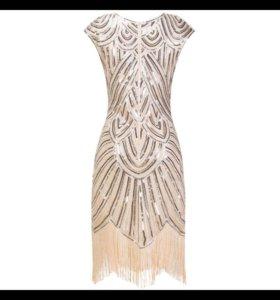Новое платье в паетках