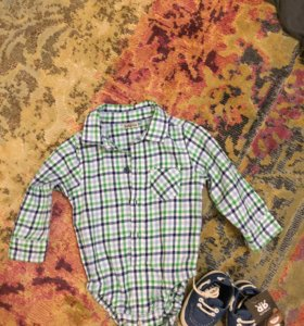 Рубашка р-р 80