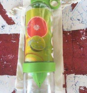 Бутылка-соковыжималка Zinger