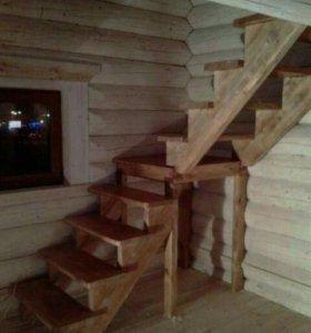 Лестницы Двери Натуральное Дерево Только на заказ