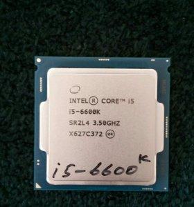 Процессор I5-6600k 3.5 gz
