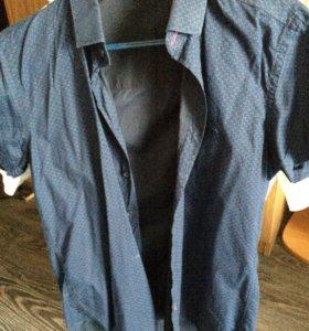 Рубашка для мальчика 12-14 лет