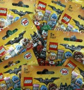 Лего минифигурки 71017 серия Бэтмен