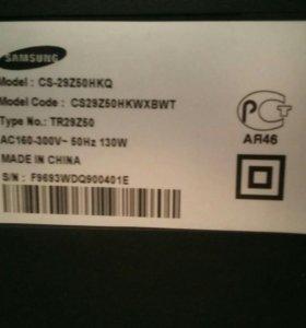 Samsung CS-29Z50HPQ ЭЛТ-телевизор плоским экраном