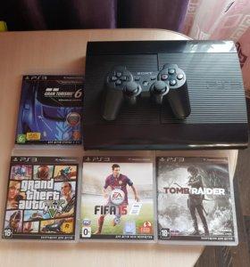 Игровая приставка Sony PlayStation 3 (PS3)