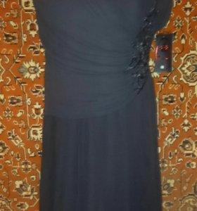 Платье новое синее, красное, черное