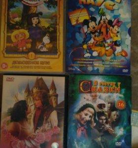 Детские диски DVD