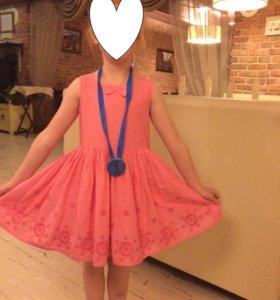Летнее платье на рост 116-122