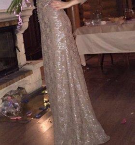 Платье Вечернее в Пол Люрикс S