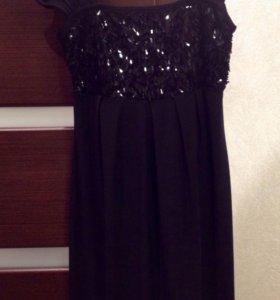 Платье с пайетками р S-M