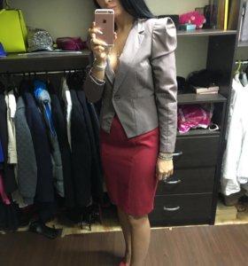 Жакет пиджак юбка