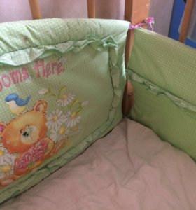 Балдахин и бортики в детскую кровать