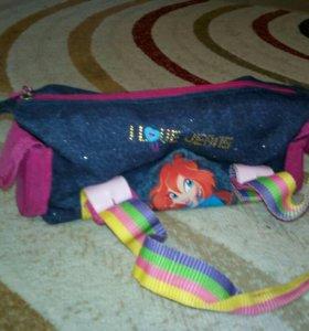 Детская сумка (джинсовая)