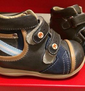 Новые Ботинки ортопедические mimy 20 размер кожа