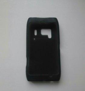 Оригинальный силиконовый чехол nokia n8