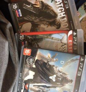Destiny,AssasinsCreedBlackflag,Watch Dogs для PS3