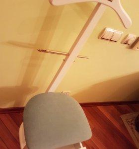 Вешалка стул напольная салон гардероб