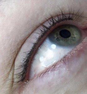 Татуаж глаз - межресничное пространство