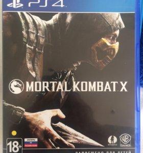 Игра для Ps4 (Mortal Kombat X)