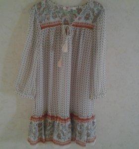 Платье воздушное шифоновое KoToN