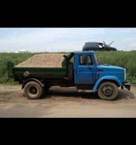 Доставка песка, ПГС, щебня, отсева, вывоз мусора