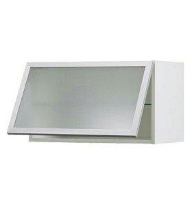 Шкаф для кухни со стеклом