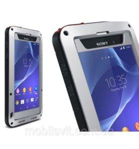 Чехол для Sony Z1/Z2/Z3/Z4/Z5 - Love Mei защитный
