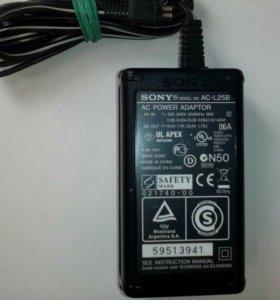 Сетевой адаптер+сетевой шнур Sony AC-L25B