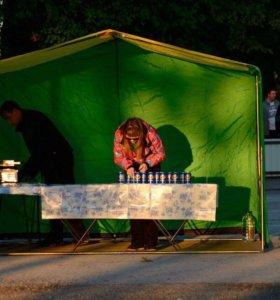 Аренда палатки и оборудование для корн догов