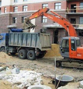 (Услуги)Уборка территории, строительный мусор.