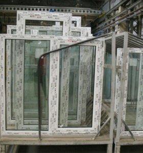 Пластиковое окно для дома с завода цена от 690