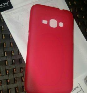 Чехол накладка для Samsung J1 (2016)