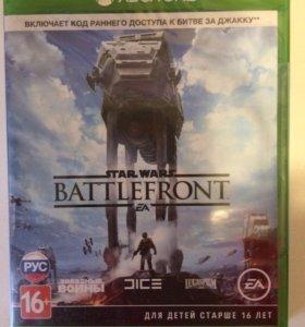 Star Wars BATTLEFRONT игра на X-BOX ONE