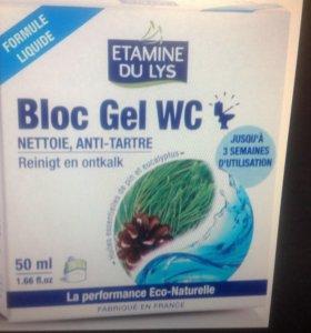 Блок гель для туалетов.Etamine Du Lys.Франция