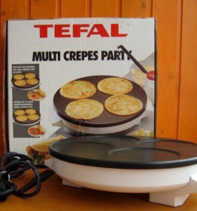 Блинница Tefal multi crepes party