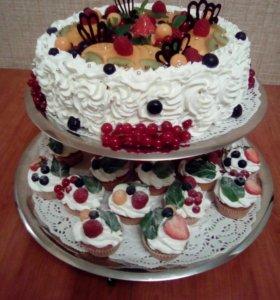 Торт от Пчёлки