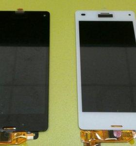 Дисплейный модуль на Sony Z3 compact