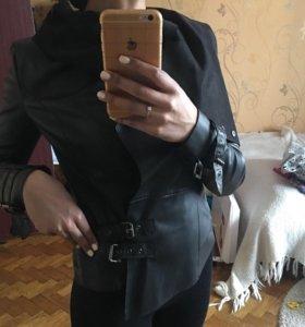 Куртка кожанная к/з