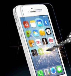 Стекло защитное iPhone