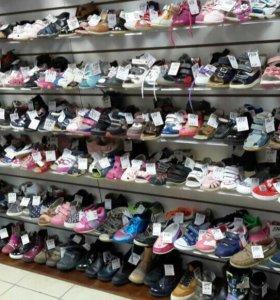 Детская б/у обувь - сандалики, кроссовки, ботинки