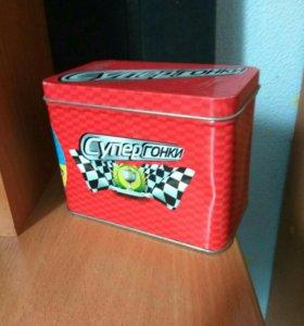 Карточки СуперГонки с коробкой, или обмен